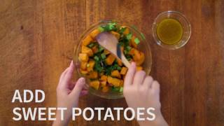 Download The American Cancer Society New Healthy Eating Cookbook: Sweet Potato Salad With Dried Cranberries Video