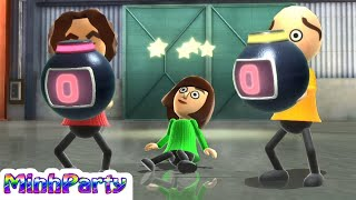 Download Wii Party U Minigames Gameplay Dojo Domination #54 @MINH PARTY U Video