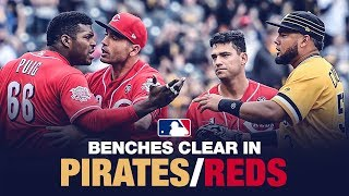 Download Benches clear in Pittsburgh Video