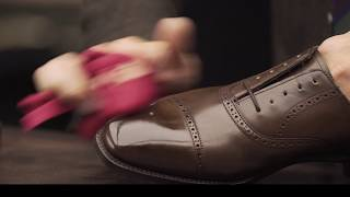 Download How to Shine Shoes with Yuya Hasegawa of Brift H Video