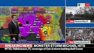 Download ABC News Hurricane Michael live coverage: landfall with 155 mph winds in Florida panhandle Video