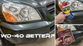 Download WD40 VS 3M   Best Headlight Restoration Method? Video