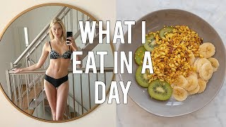 Download What I Eat In A Day As A Model | Fashion Week Preparation | Sanne Vloet Video