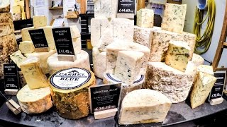Download Amazing Food Stores of London. Cheese, Crocodile Meat Burgers and More Seen in Borough Market Video