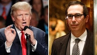 Download Trump Picks Goldman Sachs Banker For Treasury Secretary Video
