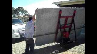 Download carro para transporte de chapas de marmore e granito Video