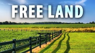Download How To Claim FREE LAND In America! Video