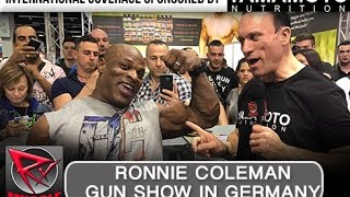 Download RONNIE COLEMAN AT FIBO 2017! (Powered by Yamamoto Nutrition) Video