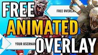 Download Free Animated Twitch Overlay - Whitedox 1.0 (customizable) Video