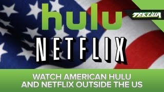 Download Unblock American Hulu and Netflix Overseas! Video