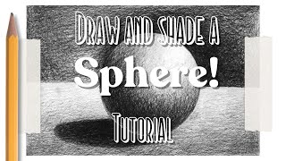 Download Drawing and shading a sphere Video