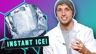 Download CREATING INSTANT ICE! (Smosh Lab) Video