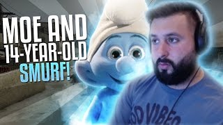 Download M0E PLAYS WITH 14 YEAR OLD SMURF! CS:GO ROAD TO GLOBAL #35 Video