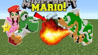 Download Minecraft: SUPER MARIO!!! (YOSHI, BOWSER, & GOOMBAS!) Mod Showcase Video