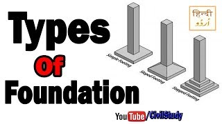 Download Types Of Foundation - Types Of Foundation In Civil Engineering In Urdu/Hindi Video