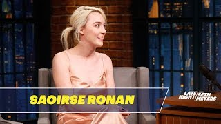 Download Saoirse Ronan Reveals Her Favorite SNL Sketches Video