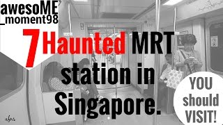 Download AFNS awesoME moment98 | Vlog (7 Haunted MRT di Singapore) Video