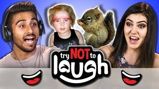 Download Try To Watch This Without Laughing or Grinning #65 (REACT) Video