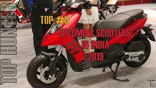 Download #5 BEST UPCOMING SCOOTERS IN INDIA THIS YEAR(2019-2020) Video