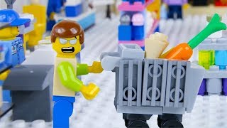 Download LEGO City Shopping Fail STOP MOTION LEGO City with Ellie Sparkles | LEGO City | By Billy Bricks Video