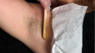 Download Warm Waxing Techniques - How To Remove Underarm Hair - Waxing Tutorial and Demonstration Video