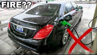 Download What Happens If You Start Your Car While Getting Gas? (Don't Try This!!) Video