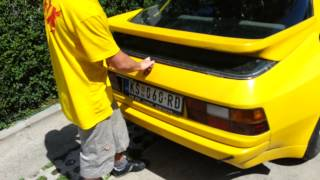 Download Porsche 924 Krusevac 2.0 92kw FOR SALE Video