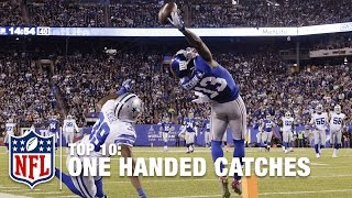 Download Top 10 One-Handed Catches of All Time | NFL Video