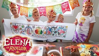 Download Elena of Avalor Family Craft Time Video