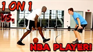 Download 1 ON 1 GAME VS NBA PLAYER!!! Video