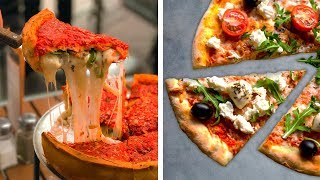 Download 3 Cheesy Hacks for the Ultimate Deep Dish Pizza   Food Hacks and Recipes by So Yummy Video