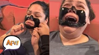 Download Funny Makeup and Waxing Fails | Beauty Is Pain | AFV Funniest Fails 2018 Video