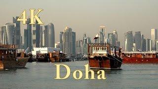 Download Doha Katar. One day in Doha Qatar. Doha city tour. 4k ultra hd. (1/3) Video