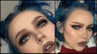 Download easy cool-toned grunge makeup tutorial Video