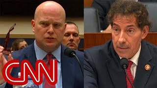 Download Whitaker clashes with lawmaker over donations Video