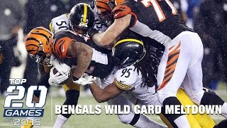 Download #7: Steelers vs. Bengals (Mic'd Up) | Top 20 Games of 2015 | Inside the NFL Video