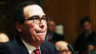 Download Life-Ruiner Steve Mnuchin Denies Knowing Anything About Anything at His Confirmation Hearing Video