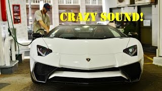 Download Lord Aleem GOING CRAZY in his Aventador SV Roadster! Start-up - Revving - Accelerations Video