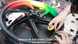 Download ABMiracle - Sơn tem đấu mâm Yamaha Exciter 135 phong cách RAINBOW Video