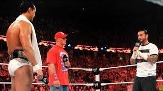Download Raw - John Cena and CM Punk demand WWE Championship rematches Video