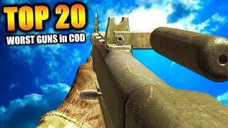 Download Top 20 ″WORST GUNS″ in COD HISTORY (Call of Duty) | Chaos Video