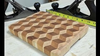 Download 3D Cube End Grain Cutting Board Video