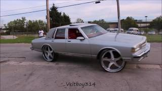 Download Veltboy314 - Box Chevy on 28s Donut Gone Wrong - Stunna Jam Car & Bike Show - Chicago IL Video