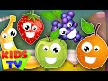 Download five little fruits | learn fruits | fruits song | kids songs | nursery rhymes kids TV Video