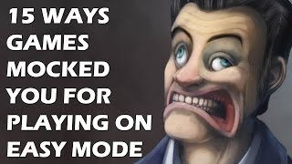 Download 15 Ways Games Punished And Mocked You For Playing On Easy Mode Video