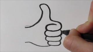 Download Zo teken je 'een duimpje omhoog'! (in stappen) Video