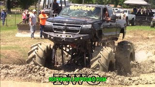 Download BIGGEST TRACTOR TIRE TRUCK AT ZWOLLE MUD BOG!!! Video