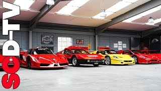 Download Supercar Collection - road legal FXX, 2x F50, F40, Countach +++ Video