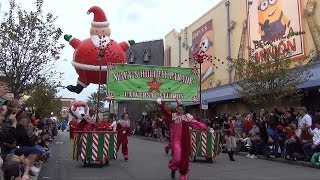 Download Universal Studios Macy's Holiday Parade 2013-2014 Season, w/ Balloons, Minions, Simpsons, Popeye Video