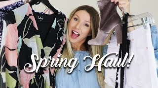 Download HUGE SPRING TRY-ON CLOTHING HAUL!! Video